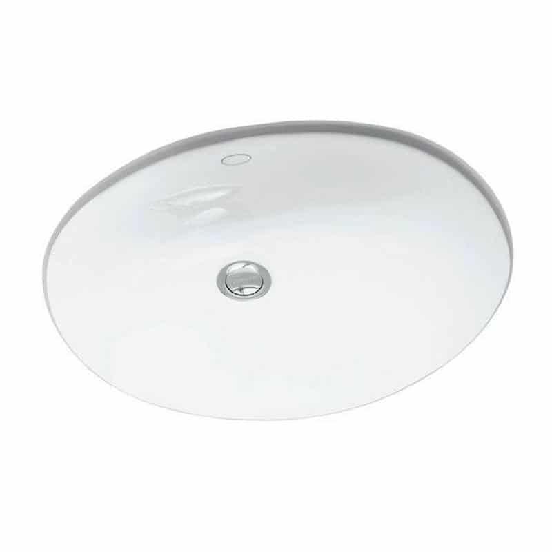 Kohler Caxton Oval White Mega Granite